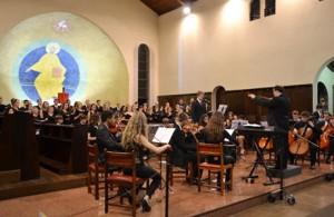 Orquestra e coral SESI