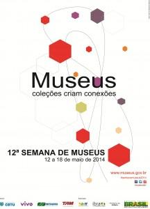 Cartaz 12 Semana de Museus