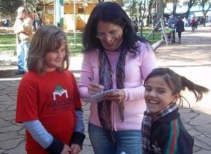 Maria Inez Pedroso, patronesse da 11ª Feira do Livro de Santa Rosa