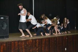 Nossos dançarinos em ação