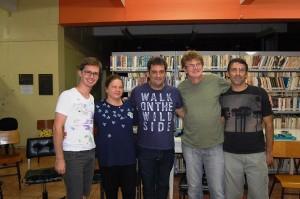 Tairone, Luciane, Anderson Farias (Secr. Cultura), Divo e Ricardo. Foto de Gerson Rodrigues (Revista Afinal)