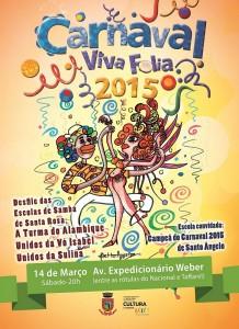 Carnaval 2015 - cartaz