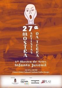 27ª Mostra Artistas da Terra - cartaz