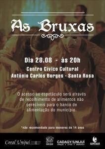 As Bruxas - Centro Cívico - Santa Rosa