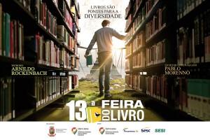 13ª Feira do Livro de Santa Rosa - painel