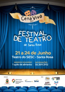 Cena Viva 2017 - cartaz