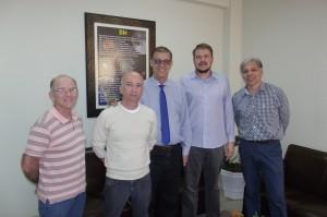 Reunião no gabinete do prefeito Vicini definiu o lançamento de novo edital do FMC
