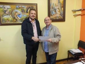 Secretário Rafael Rufino recebeu a visita do deputado estadual Aloísio Classmann