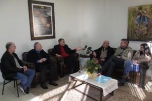 Anacleto Giovelli ao ser comunicado da homenagem pelo prefeito Alcides Vicini