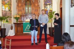 Secretário de Cultura de Santa Rosa esteve presente no X Encontro de Coros Sacros
