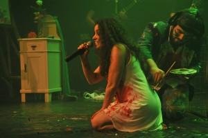 Espetáculo A (In)Consciência da Loucura, financiado pelo FMC 2015