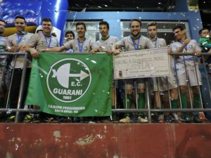 O título obtido pelos Titulares coroou a excelente temporada 2017 do Guarani