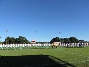 Palmeiras (da Glória) e Guarani (de Pessegueiro) perfilados para a disputa da grande final