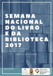 Semana Nacional do Livro e da Biblioteca 2017 - cartaz