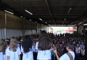Natal Itinerante das Oficinas Municipais de Música na AGCO